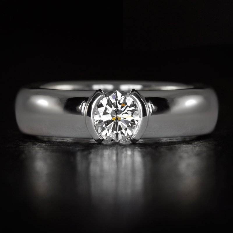 FLAWLESS TIFFANY & CO GIA G IF TRIPLE EXCELLENT DIAMOND PLATINUM ENGAGEMENT RING