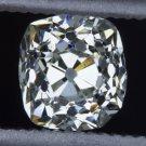 ANTIQUE OLD MINE CUT CUSHION DIAMOND SQUARE LOOSE ENGAGEMENT COCKTAIL VINTAGE