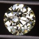 2.41ct GIA CERTIFIED VS1 FLAWLESS ANTIQUE OLD EUROPEAN MINE CUT DIAMOND VINTAGE