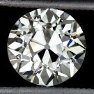 1.50ct OLD EUROPEAN CUT VINTAGE I VS2 CERTIFIED DIAMOND ROUND ART DECO ANTIQUE