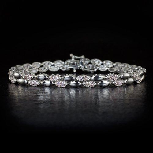 2 CARAT RARE NATURAL FANCY INTENSE PINK DIAMONDS UNTREATED TENNIS BRACELET 18K