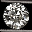 1900s 1.60ct IDEAL CUT OLD EUROPEAN DIAMOND LOOSE VINTAGE ROUND ENGAGEMENT 1.5ct