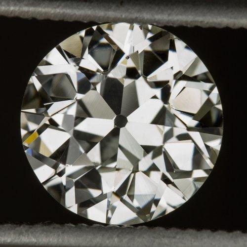 1.29ct VINTAGE OLD EURO DIAMOND K VS1 EGL-USA CERTIFIED ANTIQUE ART DECO LOOSE