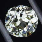 0.62ct VINTAGE OLD MINE CUSHION CUT DIAMOND VS Q-R CAPE VICTORIAN ANTIQUE ESTATE