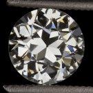 VINTAGE 1 CARAT H VS OLD EUROPEAN CUT DIAMOND EGL-USA CERTIFIED ROUND ENGAGEMENT