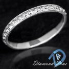 VINTAGE FILIGREE WEDDING BAND ANTIQUE DESIGN RING 14K