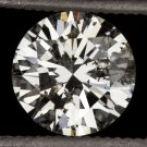 1ct ROUND BRILLIANT CUT DIAMOND LOOSE ENGAGEMENT SOLITAIRE NATURAL EARTH-MINED