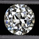 1920s VINTAGE OLD EUROPEAN CUT DIAMOND J VS2 LOOSE EGL-USA CERTIFIED 3/4ct ROUND