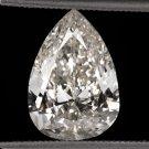 3 CARAT NATURAL PEAR SHAPE DIAMOND EGL-USA CERTIFIED VINTAGE TEAR DROP PENDANT