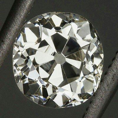 0.93ct ANTIQUE J VS2 OLD MINE CUT DIAMOND EGL-USA CERTIFIED ROUND LOOSE VINTAGE
