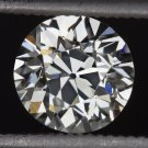 IDEAL CUT 0.9 I VS1 VINTAGE OLD EUROPEAN CUT DIAMOND EGL-USA CERT ENGAGEMENT 20s