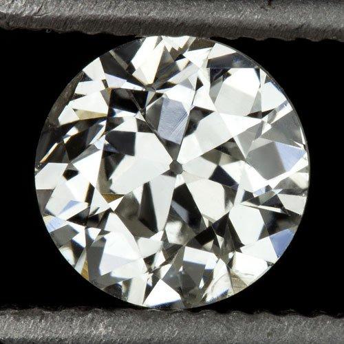 1/2ct VINTAGE OLD EUROPEAN CUT DIAMOND G SI2 EGL-USA CERTIFIED ART DECO ANTIQUE
