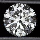 NATURAL 2 CARAT EXCELLENT CUT ROUND BRILLIANT DIAMOND H COLOR UNTREATED 2.10ct