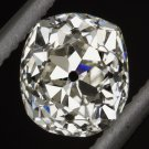 ANTIQUE OLD MINE CUSHION CUT DIAMOND 0.80ct EGL-USA CERTIFIED VINTAGE VICTORIAN