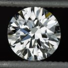 GIA CERTIFIED VERY GOOD CUT ROUND BRILLIANT DIAMOND E COLOR IDEAL 1/2CT NATURAL