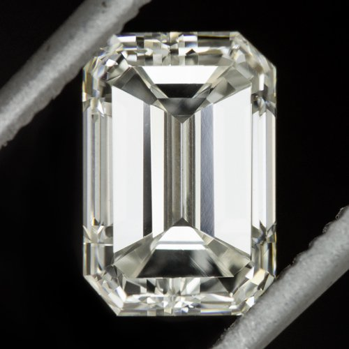1 CARAT GIA CERTIFIED DIAMOND EMERALD CUT STEP I VS1 VERY GOOD NATURAL 1.01ct