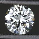 1/2 CARAT EXCELLENT CUT H VVS2 ROUND DIAMOND EGL-USA CERTIFIED LOOSE ENGAGEMENT