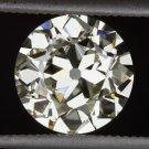 1.77ct GIA CERTIFIED VINTAGE OLD EUROPEAN CUT DIAMOND LOOSE ANTIQUE VS1 ART DECO