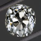 1.23ct ANTIQUE OLD MINE CUT DIAMOND K SI1 EGL-USA CERT LOOSE CUSHION MINER OMC