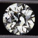 VINTAGE 1.11 OLD EUROPEAN CUT DIAMOND I SI1 EGL-USA CERTIFIED ROUND 1ct ANTIQUE