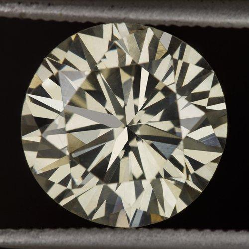 2.25ct NATURAL DIAMOND IDEAL CUT VS2 WHITE CHAMPAGNE REAL DIAMOND 8.6mm ROUND