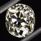 1.34ct 1800 OLD MINE CUT DIAMOND RARE ANTIQUE GIA CERTIFIED Y-Z VS LOOSE CUSHION