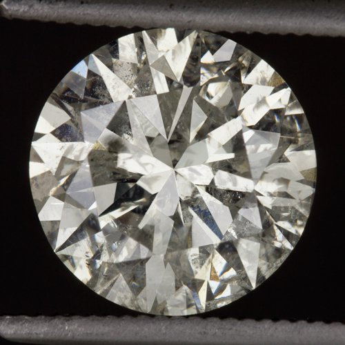 2.35ct EXCELLENT CUT ROUND BRILLIANT DIAMOND 8.4mm NATURAL UNTREATED 2 CARAT BIG