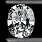 E VS1 OVAL CUT DIAMOND EGL-USA CERTIFIED 1/2 CARAT ENGAGEMENT CUSHION NATURAL