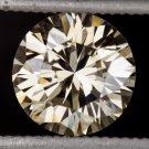 IDEAL CUT 1 CARAT FANCY CHAMPAGNE C5 VS2 DIAMOND NATURAL LOOSE ROUND 6.5mm 1ct