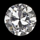 D COLOR 0.80CT OLD EUROPEAN CUT DIAMOND ART DECO ANTIQUE VINTAGE NATURAL ESTATE