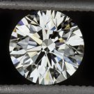 GIA CERTIFIED 3/4 CARAT EXCELLENT CUT H VS1 ROUND BRILLIANT DIAMOND IDEAL 0.75
