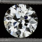 GIA CERTIFIED G VS2 OLD EUROPEAN CUT DIAMOND ANTIQUE ART DECO VINTAGE 0.60 1920s