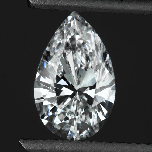 1/2 CARAT D COLOR PEAR SHAPE DIAMOND SI LOOSE TEAR DROP 0.50ct NATURAL PENDANT