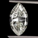 2 CARAT VINTAGE DIAMOND OLD CUT ANTIQUE MARQUISE EGL-USA CERTIFIED ART DECO OVAL