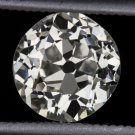 1.50ct VINTAGE OLD MINE CUT DIAMOND ANTIQUE EGL-USA CERTIFIED EUROPEAN ESTATE OE