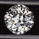 VINTAGE 0.69ct I VS2 OLD EUROPEAN CUT DIAMOND EGL-USA CERTIFIED LOOSE ANTIQUE