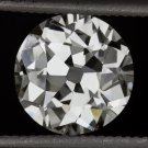 1.37c VINTAGE H SI2 CERTIFIED OLD EUROPEAN CUT LOOSE ROUND DIAMOND ANTIQUE 1.5ct