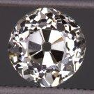 1.02c ANTIQUE J Si1 OLD MINE CUT DIAMOND EGL-USA CERTIFIED LOOSE VINTAGE CUSHION