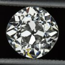 1.30ct G VS2 VINTAGE OLD MINE CUT EUROPEAN DIAMOND EGL-USA CERTIFIED ENGAGEMENT