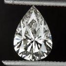 1 CARAT PEAR SHAPE DIAMOND EGL-USA CERTIFIED G SI2 LOOSE TEAR DROP NATURAL 1ct