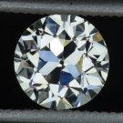 1900s VINTAGE 0.71c OLD EUROPEAN CUT DIAMOND I VS2 LOOSE EGL-USA CERTIFIED ROUND