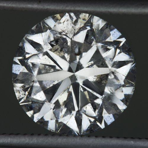 2.75 CARAT ROUND BRILLIANT CUT NATURAL DIAMOND ENGAGEMENT SOLITAIRE RING LARGE