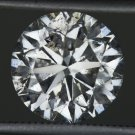 2.75 CARAT ROUND BRILLIANT CUT NATURAL DIAMOND ENGAGEMENT SOLITAIRE RING LARGE