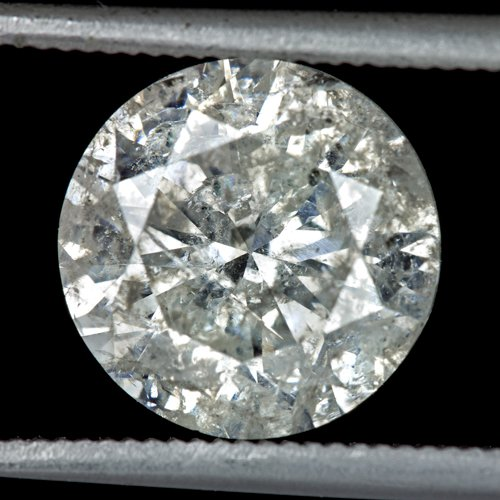 3ct NATURAL ROUND DIAMOND EARTH-MINED UNTREATED LOOSE PENDANT 2.77ct 8.5mm REAL