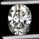 2/3ct I VS1 OVAL CUT DIAMOND 0.66c EGL-USA CERTIFIED LOOSE NATURAL CUSHION SHAPE
