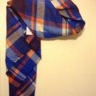 Zara bloggers favourite Tartan Blanket Checked Scarf BNWT