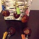 Bloggers Fav TASSEL Lucky charm keychain handmade buckeye BNWT Available colours