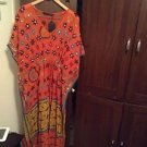 Zara woman  hand Embroidered  Long Tunic  Dress  One Size  m BNWT