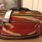 Zara ethnic style fabric duffle bag BNWT multicoloured