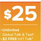 Brand New Mango Mobile Triple-Cut SIM Card $25 Sweet Mango Plan 1 Month Included